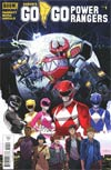 Sabans Go Go Power Rangers #1 Cover A Regular Dan Mora Cover
