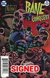 Bane Conquest #1 Cover E DF Ultra-Rare Gold Signature Series Signed By Graham Nolan