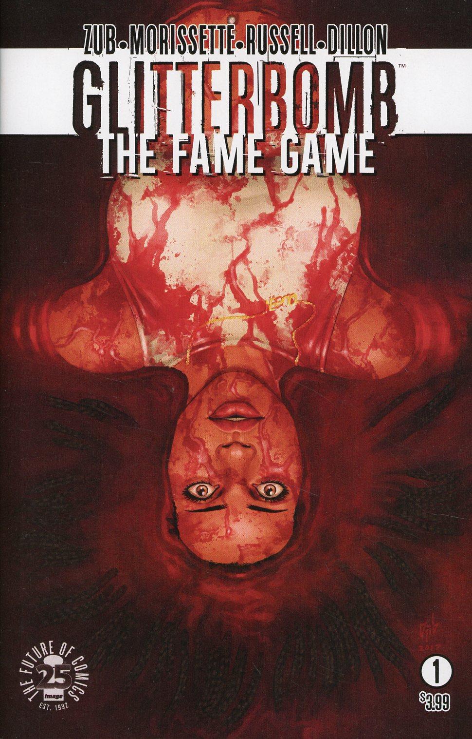 Glitterbomb Fame Game #1 Cover A Regular Djibril Morissette-Phan Cover
