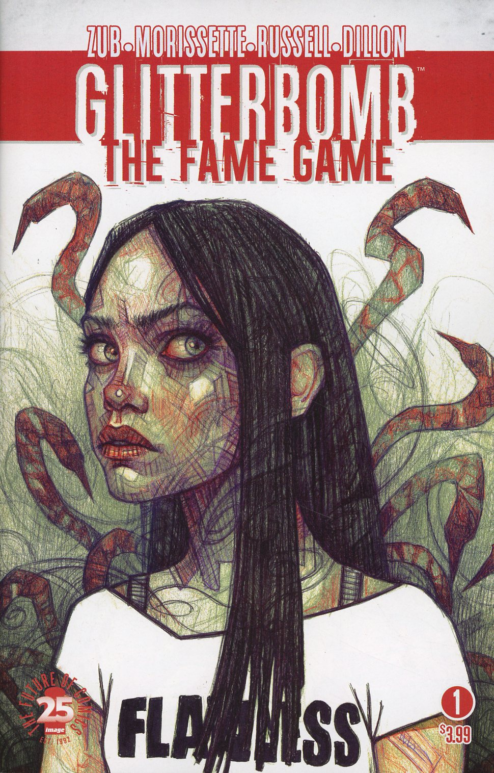 Glitterbomb Fame Game #1 Cover B Variant Rebeca Puebla Cover