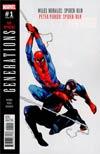 Generations Miles Morales Spider-Man & Peter Parker Spider-Man #1 Cover B Variant Olivier Coipel Cover