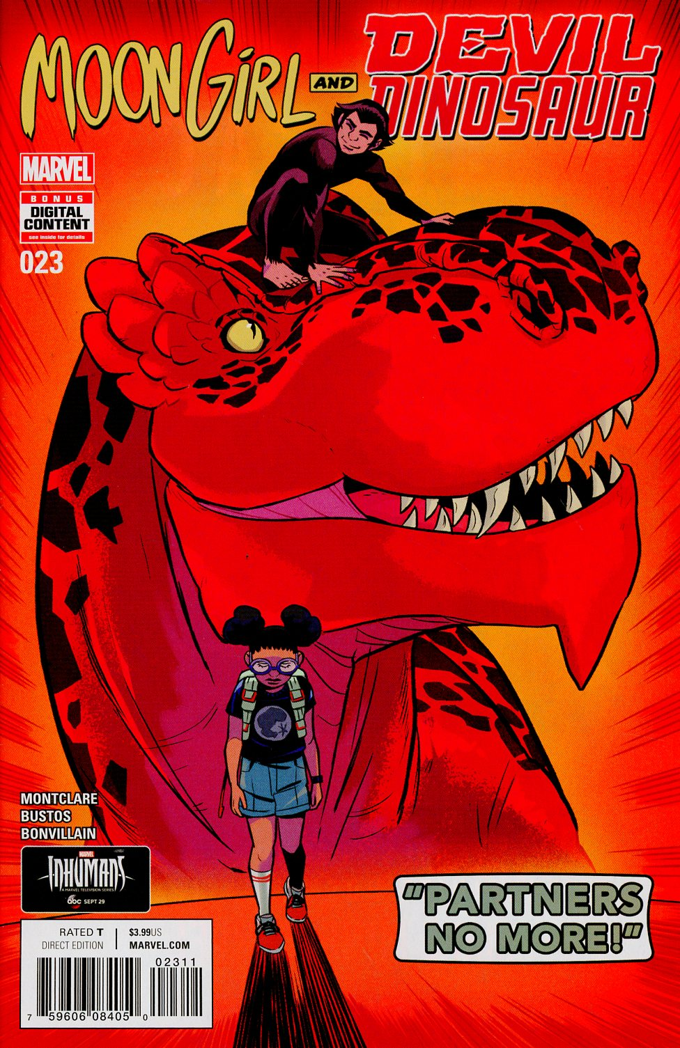 Moon Girl And Devil Dinosaur #23