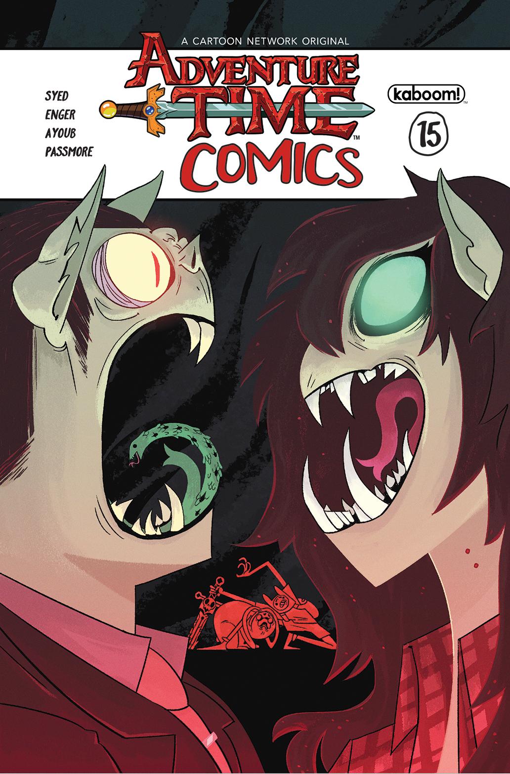 Adventure Time Comics #15 Cover A Regular Heather Danforth Cover
