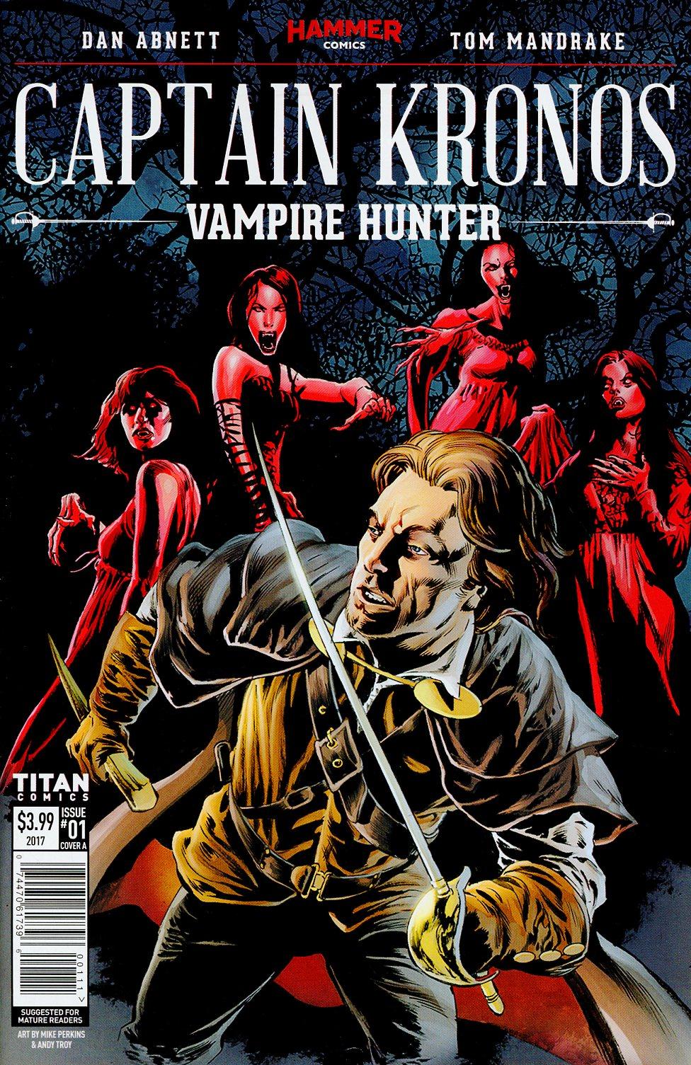 Hammer Comics Captain Kronos Vampire Hunter #1 Cover A Regular Mike Perkins Cover