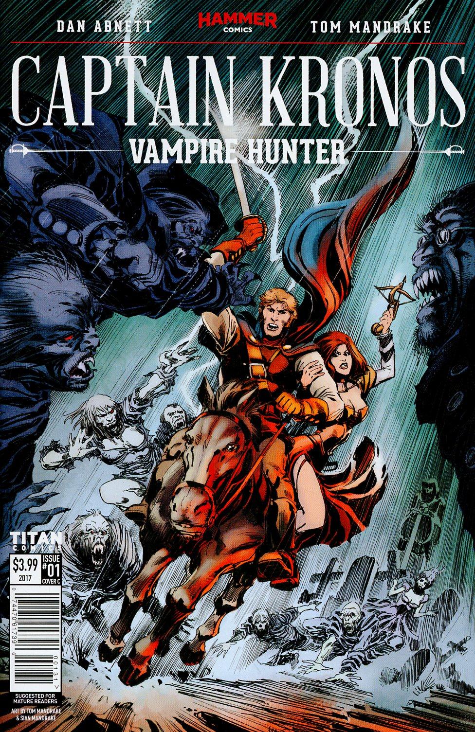Hammer Comics Captain Kronos Vampire Hunter #1 Cover C Variant Tom Mandrake Cover