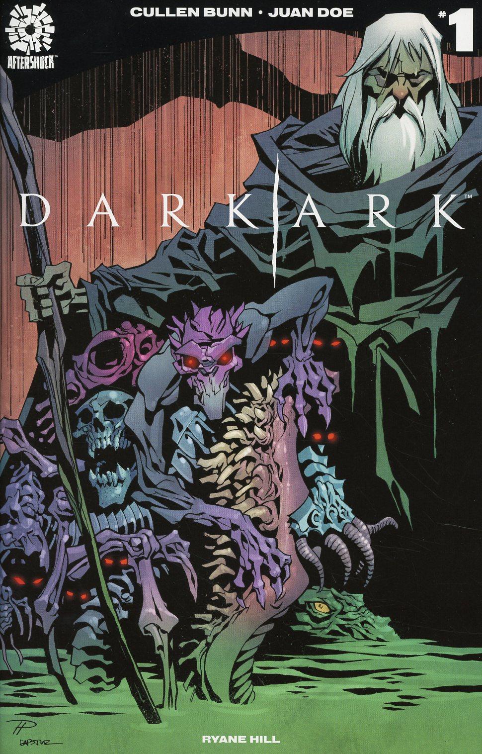 Dark Ark #1 Cover B Variant Phil Hester Cover