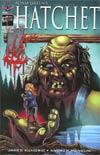 Adam Greens Hatchet #1 Cover D Variant Buz Hasson & Ken Haeser Hand Of Horror Cover