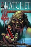 Adam Greens Hatchet #1 Cover E Variant Buz Hasson & Ken Haeser Rated Mr For Horror Limited Edition Cover