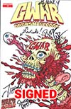 GWAR Orgasmageddon #1 Cover I Signed By Members Of GWAR