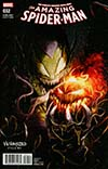 Amazing Spider-Man Vol 4 #32 Cover B Variant Francesco Mattina Venomized Green Goblin Cover