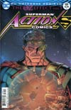 Action Comics Vol 2 #989 Cover A Regular Nick Bradshaw Lenticular Cover