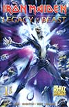 Iron Maiden Legacy Of The Beast #1 Cover A Regular Santi Casas Cover
