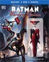 Batman And Harley Quinn With Figurine Blu-ray DVD