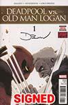Deadpool vs Old Man Logan #1 Cover E Regular Declan Shalvey Cover Signed By Declan Shalvey