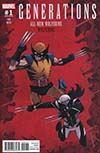 Generations Wolverine & All-New Wolverine #1 Cover C Incentive Declan Shalvey Variant Cover