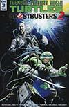 Teenage Mutant Ninja Turtles Ghostbusters II #3 Cover B Variant Tadd Galusha Cover