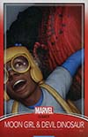 Moon Girl And Devil Dinosaur #25 Cover C Variant John Tyler Christopher Trading Card Cover (Marvel Legacy Tie-In)