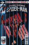 Peter Parker Spectacular Spider-Man #297 Cover B Variant Paulo Siqueira Lenticular Homage Cover (Marvel Legacy Tie-In)