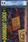 Doomsday Clock #1 Cover E DF CGC 9.6 Or Higher