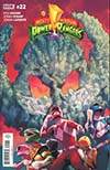 Mighty Morphin Power Rangers (BOOM Studios) #22 Cover A Regular Jamal Campbell Cover