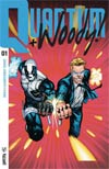 Quantum & Woody Vol 4 #1 Cover D Incentive Geoff Shaw Extreme Ultra-Foil Chase Variant Cover