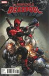 Despicable Deadpool #287 Cover F Incentive Clayton Crain Promo Variant Cover (Marvel Legacy Tie-In)