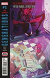 Generations Miles Morales Spider-Man & Peter Parker Spider-Man #1 Cover D 2nd Ptg Variant Ramon Perez Cover