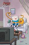 Adventure Time Regular Show #4 Cover D Incentive Ian McGinty Mash-Up Homage Virgin Variant Cover