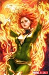 Phoenix Resurrection Return Of (Adult) Jean Grey #1 Cover H Incentive Stanley Artgerm Lau Green Costume Virgin Variant Cover (Marvel Legacy Tie-In)
