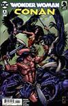 Wonder Woman Conan #6 Cover A Regular Darick Robertson Cover