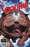 Lockjaw #1 Cover A Regular Ed McGuinness Cover (Marvel Legacy Tie-In)