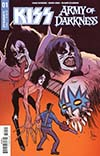 KISS Army Of Darkness #1 Cover A Regular Kyle Strahm Cover