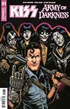 KISS Army Of Darkness #1 Cover C Variant Ken Haeser Cover