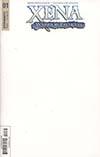 Xena Vol 2 #1 Cover C Variant Blank Authetix Cover