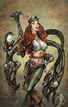 Legenderry Red Sonja Vol 2 #1 Cover D Incentive Joe Benitez Virgin Cover