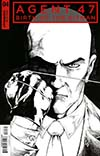 Agent 47 Birth Of The Hitman #4 Cover C Incentive Jonathan Lau Black & White Cover