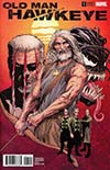 Old Man Hawkeye #1 Cover F Incentive Steve McNiven Color Variant Cover (Marvel Legacy Tie-In)
