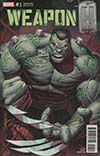 Weapon H #1 Cover C Variant Dale Keown Hulk Homage Cover (Marvel Legacy Tie-In)