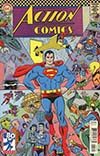 Action Comics Vol 2 #1000 Cover E Variant Michael Allred 1960s Cover
