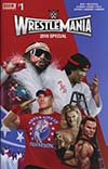 WWE Wrestlemania 2018 Special #1 Cover A Regular Rahzzah Cover