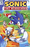 Sonic The Hedgehog Vol 3 #4 Cover A 1st Ptg Regular Tyson Hesse Cover