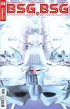 Battlestar Galactica vs Battlestar Galactica #4 Cover A Regular Adam Mojo Lebowitz Cover