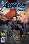 Action Comics Vol 2 #1000  Midtown Exclusive Olivier Coipel Color Variant Cover