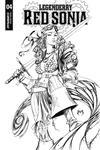 Legenderry Red Sonja Vol 2 #4 Cover B Incentive Joe Benitez Black & White Cover
