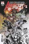 Avengers Vol 7 #1 Cover G Incentive Ed McGuinness Premiere Variant Cover
