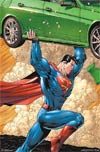 Superman Car Poster