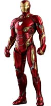 Avengers Infinity War Iron Man Diecast Movie Masterpiece Series Sixth Scale 12.59-Inch Figure