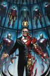 Tony Stark Iron Man #1 Cover X Incentive Adi Granov Variant Cover