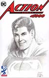 Action Comics Vol 2 #1000 Cover T DF Exclusive Curt Swan Variant Cover