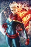 Life Of Captain Marvel Vol 2 #1 By Stanley Artgerm Lau Poster